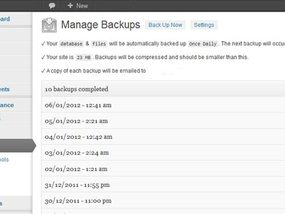 BackUpWordPress – How to Restore a Backup