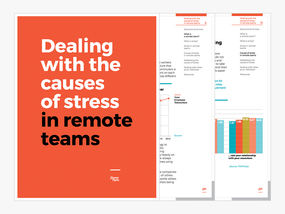 New White Paper: Dealing with the causes of stress in remote teams