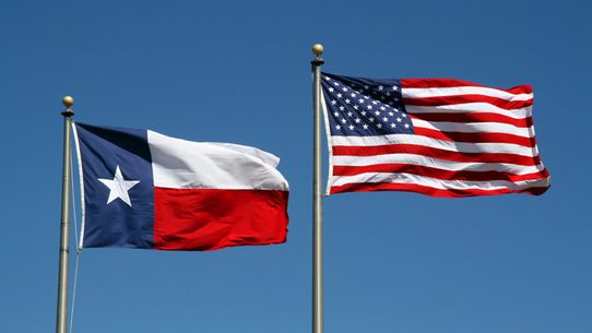 Does Federal Law Allow Only The Texas State Flag To Be Flown At The Same Height As The U S National Flag