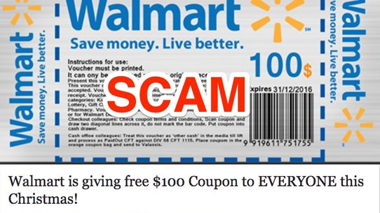 walmart is not distributing free gift cards to users who click an online link its a form of scam - Free Gift Card Rewards
