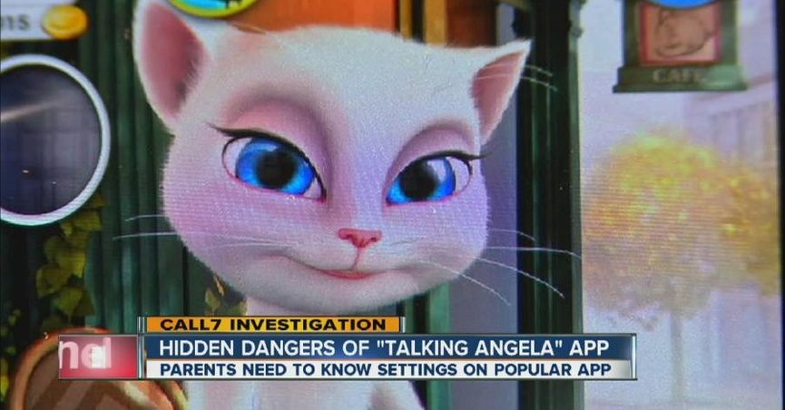Fact check is the talking angela app unsafe the talking angela app does not unsafely prompt children to provide personal information about themselves altavistaventures Images