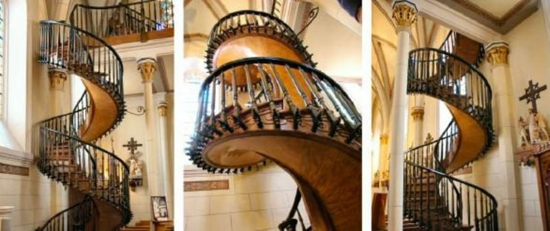 Mysterious Staircase At Loretto Chapel