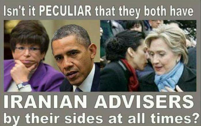 Obama and Clinton Have Iranian Advisers