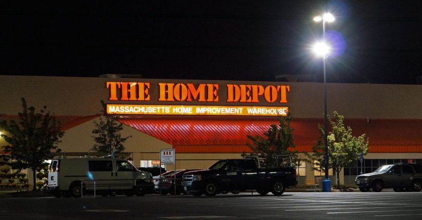 scam home depot facebook coupon