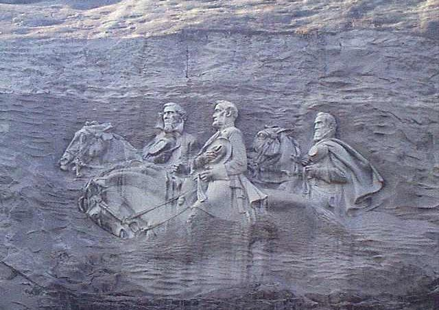 Stone mountain carving removal petition