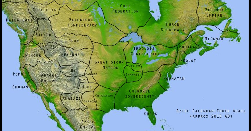 fact check does a map accurately depict the native american tribal areas of the united states prior to european colonization