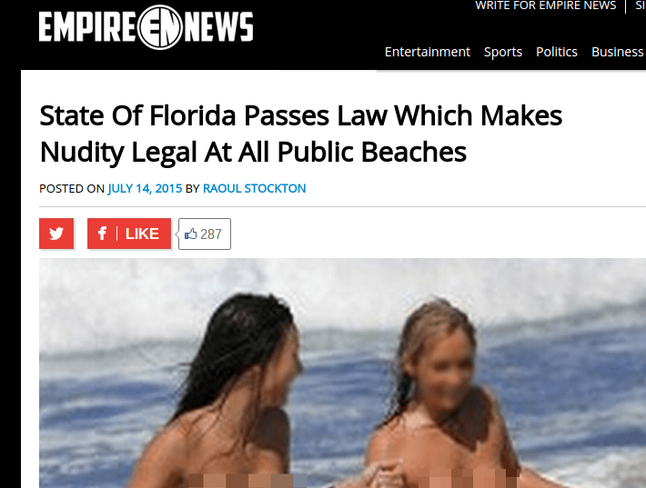 legal public nudity usa