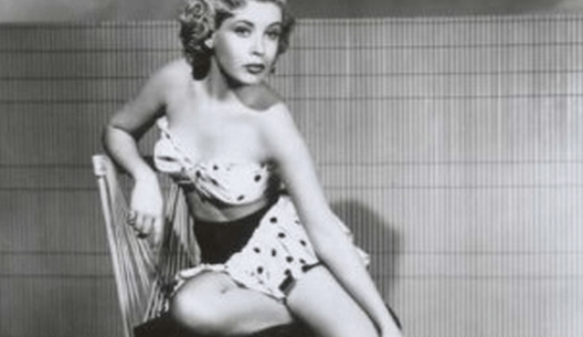 Fact check aunt babe fact check does an image show a young frances bavier the actress who played aunt bee taylor on the andy griffith show posing for a pin up style photo altavistaventures Choice Image