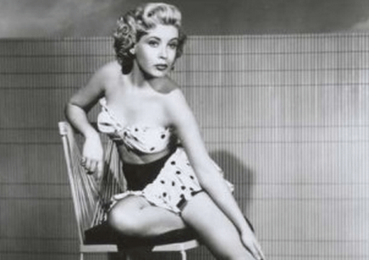 Fact check aunt babe fact check does an image show a young frances bavier the actress who played aunt bee taylor on the andy griffith show posing for a pin up style photo altavistaventures Image collections