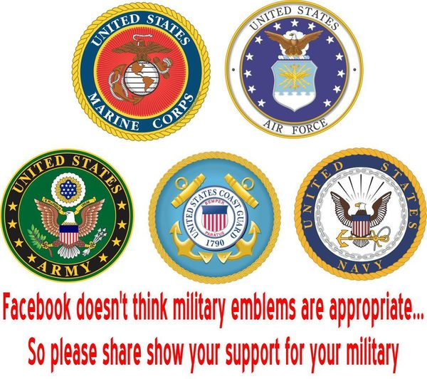 Facebook Doesnt Think Military Emblems Are Appropriate