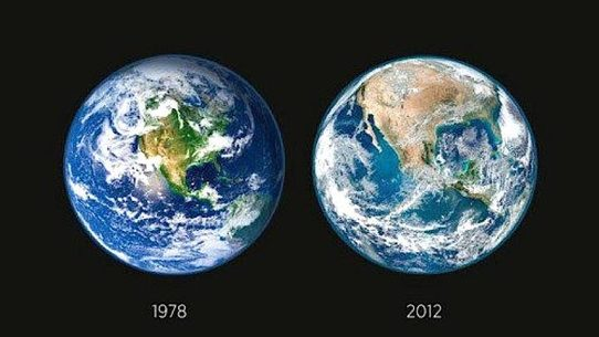 Popular NASA Photographs Purportedly Highlighting The Dramatic Effects Of Deforestation In North America Actually Show Earth Different Seasons