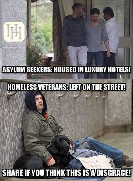asylum seekers luxury hotels
