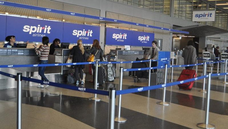 Spirit Airlines Disses On Leave Soldier