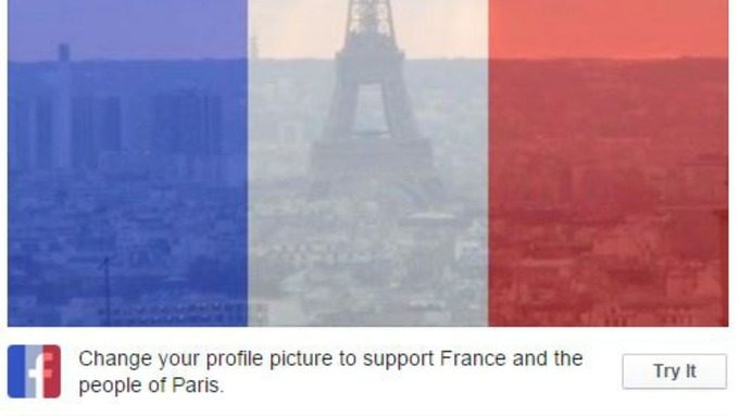 Its Highly Unlikely Isis Is Using Support Paris Facebook Avatars To Target Military Families