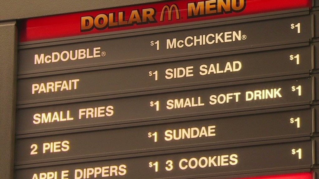 FALSE: McDonald's Getting Rid of Dollar Menu in 2016