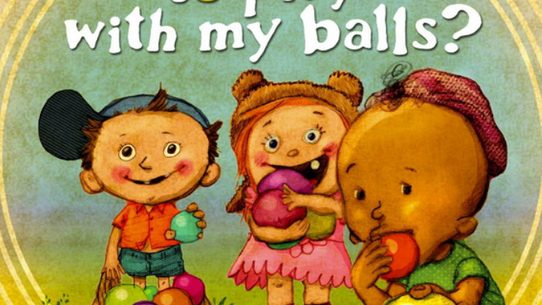 A Book Featuring Amusing Ball Related Double Entendres Is Parody Of Childrens Books And Not Targeted At Youngsters