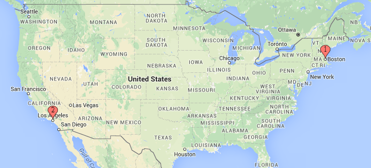 Interactive US Map Boston College Top Us Airports For Regional - Seattle on us map