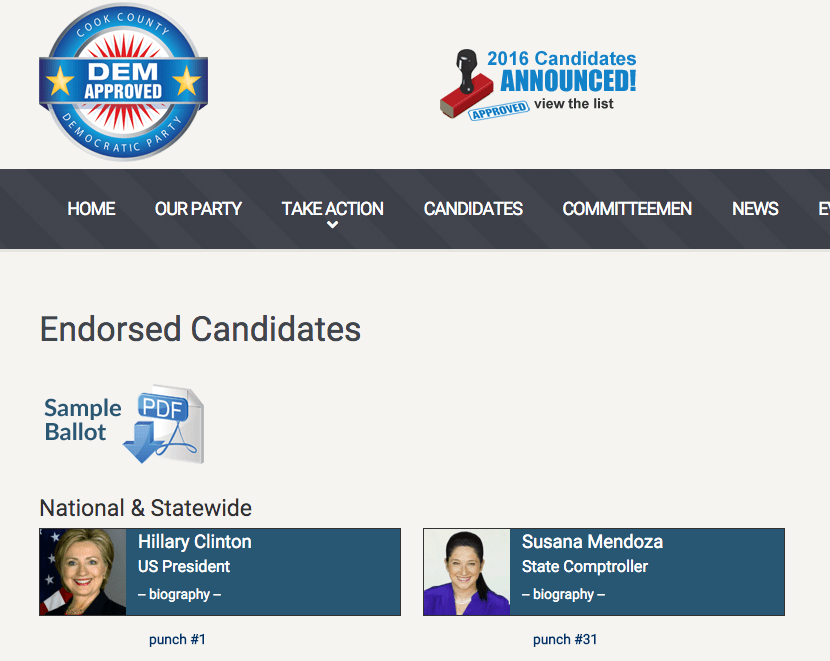 2016_Democratic_Party_Approved_Candidates