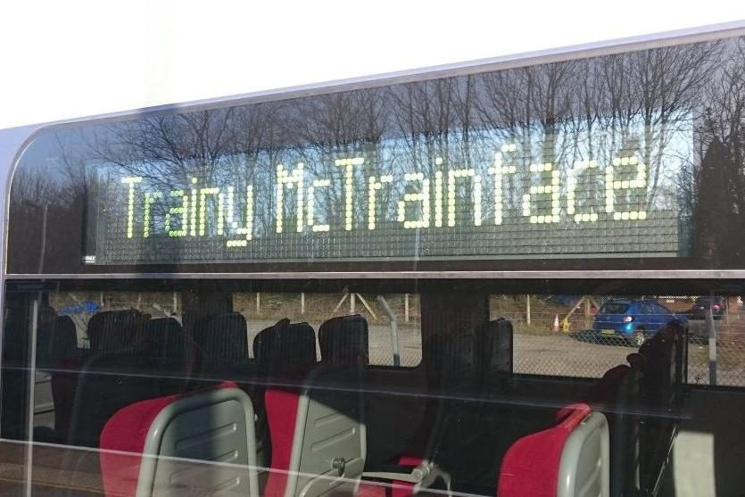 Trainy McTrainface