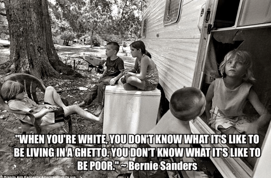 bernie sanders quote poor