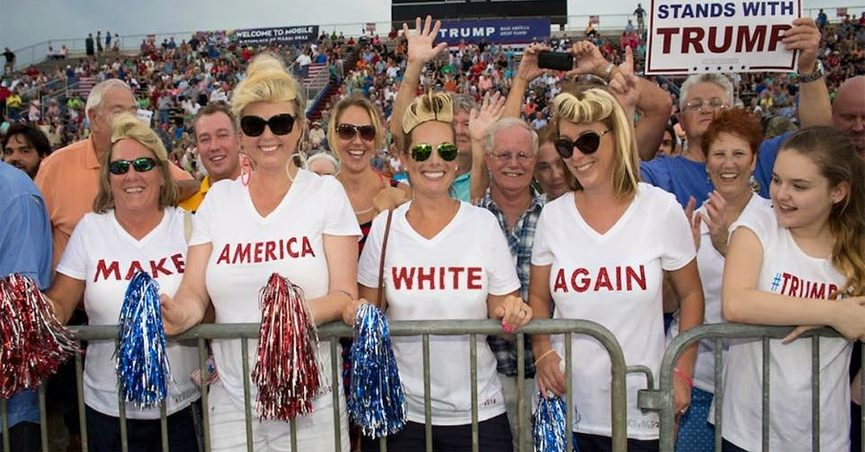 Image result for white trump supporters