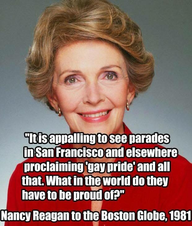 regan gay personals Ronald reagan failed to successfully combat the aids crisis, but does that make him antigay.