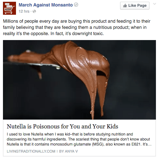 Fact Check Is Nutella Toxic
