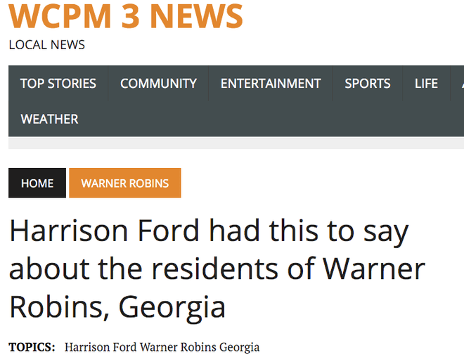 Harrison_Ford_had_this_to_say_about_the_residents_of_Warner_Robins__Georgia_–_WCPM_3_News