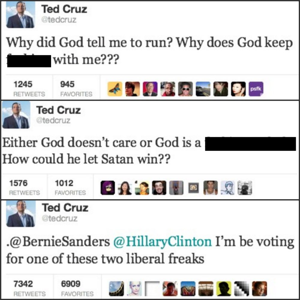 ted cruz tweets