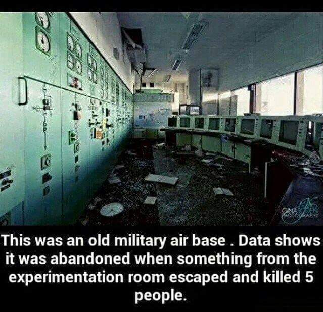 Viral News And Advertorial Writer: FACT CHECK: Abandoned Military Base's 'Experimentation Room