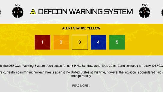 fact check defcon warning level escalated to 3