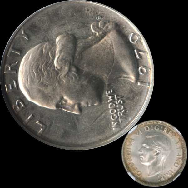 Fact Check 1970 U S Quarter Struck On 1941 Canadian Quarter