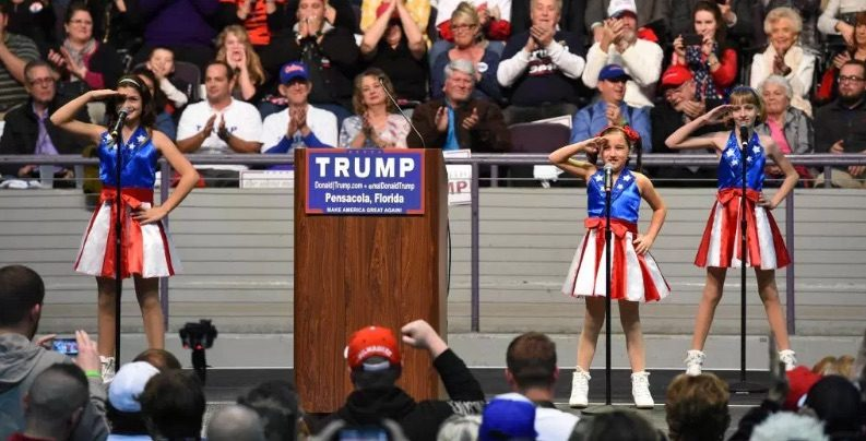 Father of USA Freedom Kids Considering Suit Against Trump