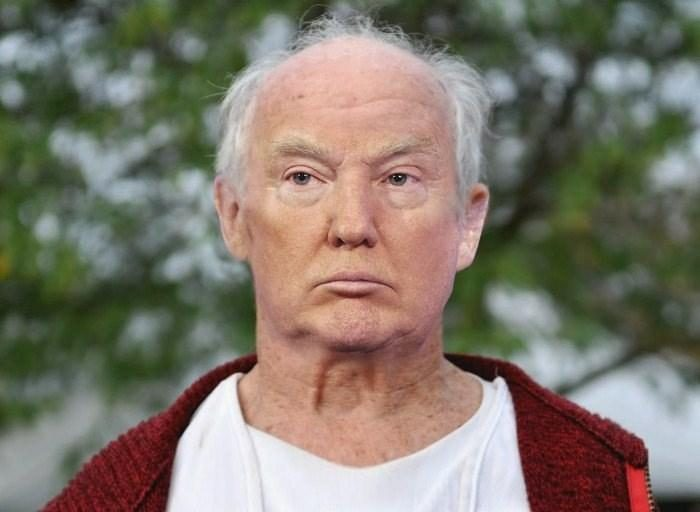 Fact Check Image Of Donald Trump With No Wig Or Makeup