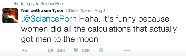 Neil deGrasse Tyson Tweet 1