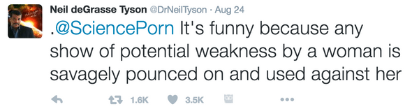 Neil deGrasse Tyson Tweet 2