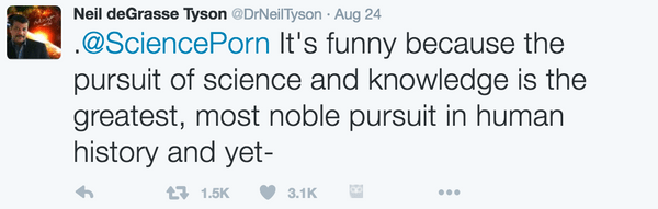 Neil deGrasse Tyson Tweet 5