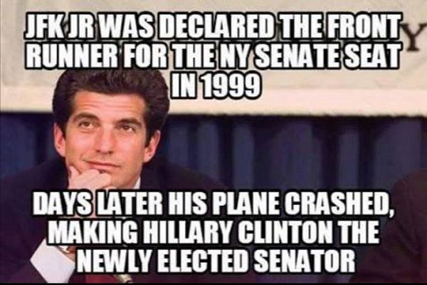 fact check jfk jr was a u s senate frontrunner before suspicious