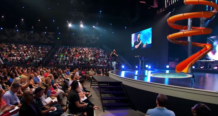 Sample Front Elevation Church : Fact check did elevation church debut a water slide