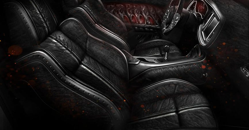 fact check new dodge challenger features elephant skin interior. Black Bedroom Furniture Sets. Home Design Ideas