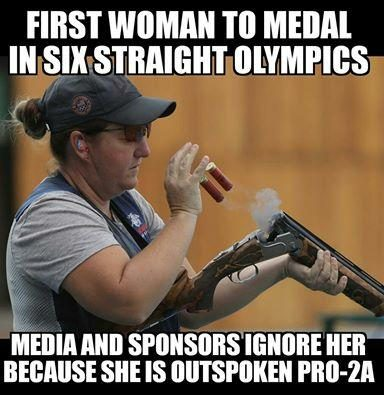 rhode fact check media ignore kim rhode's sixth olympic medal