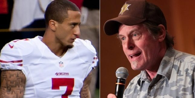 Ted Nugent recently made comments about President Obama's support for NFL  player Colin Kaepernick's protests, but he didn't call the athlete a