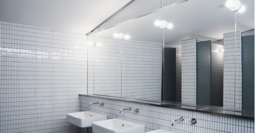 Two Way Mirror Bathroom. Is Looking For A Gap Between An Object And Its Reflection A Good Way To Distinguish Two Way Mirrors From Ordinary Mirrors