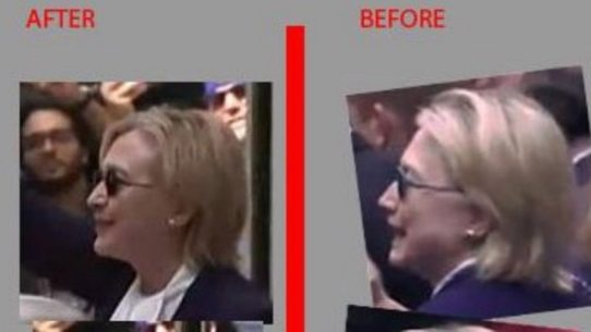 fact check hillary body double teresa barnwell appeared in nyc