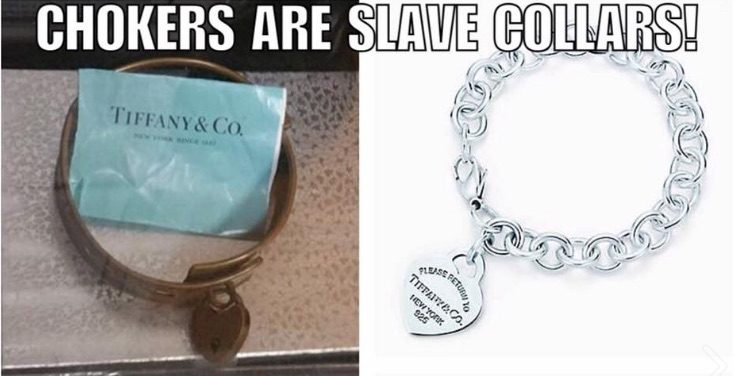 Fact Check Did Tiffany Chokers Originate As Slave Collars