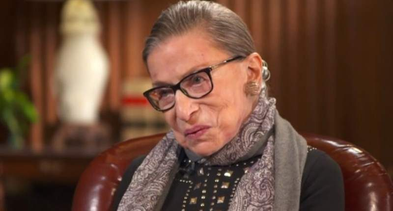 Ruth Bader Ginsburg 101016 ruth bader ginsburg nfl players' police violence protest is 'dumb