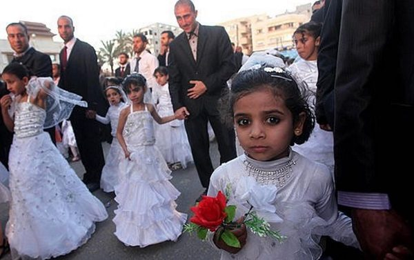 Image result for photos of child brides in the middle east
