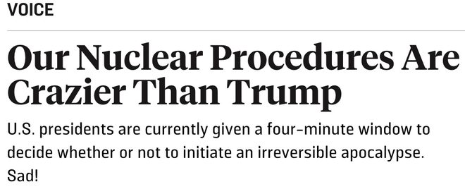 is nuclear response time classified