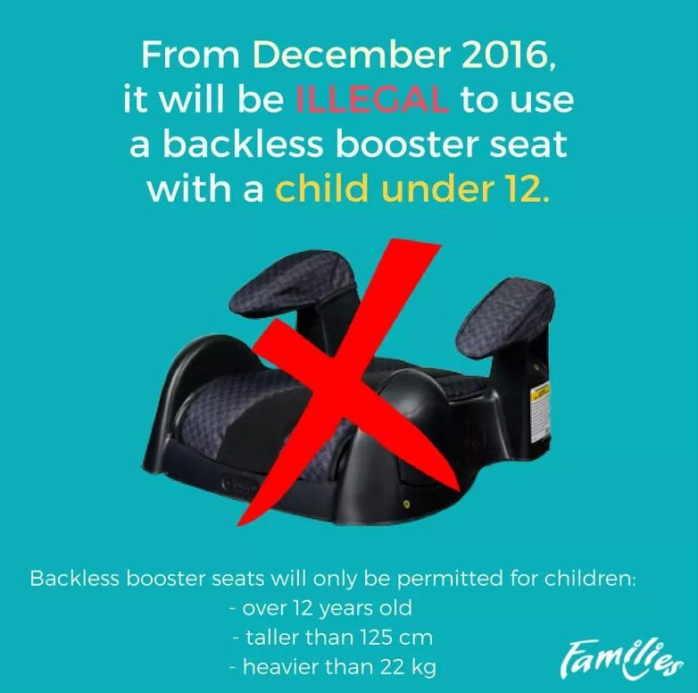 FACT CHECK: Backless Booster Seats Banned in United States?