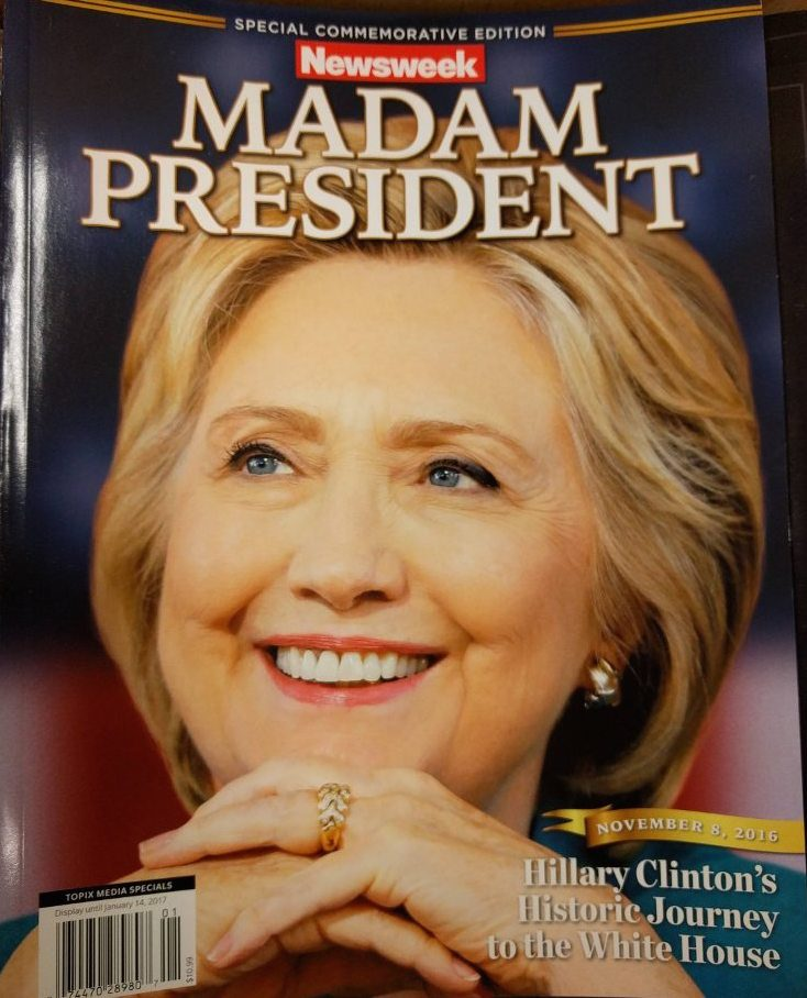 Image result for Picture of hillary as president